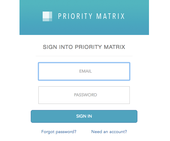 How Can I Change the Email I Signed Up With? « Priority