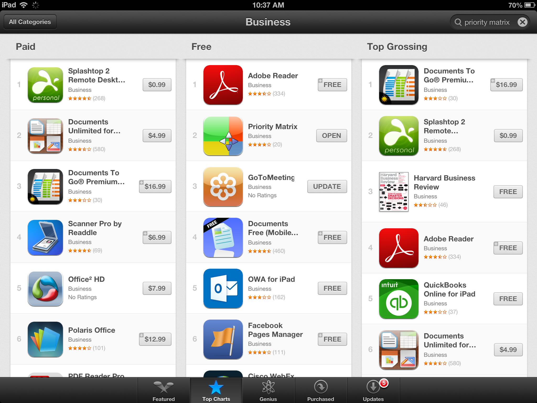 Top 10 Business Apps For Ipad Iphone And Mac