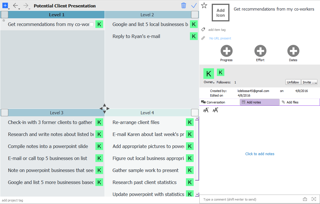 Priority matrix for outlook mac