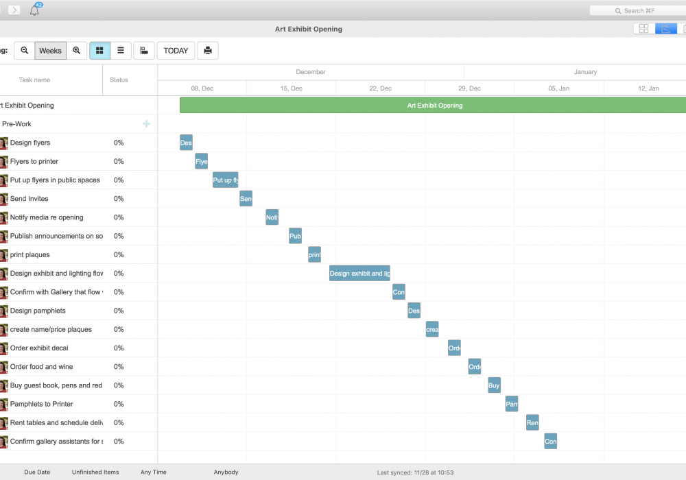 Managing Tight Deadlines with the Priority Matrix Gantt Chart