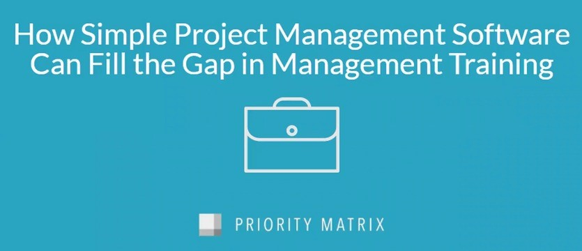 How to fill gap in management training