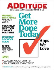 Priority Matrix - Best mobile adhd app by Additude Magazine